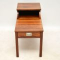 1960's Rosewood Vintage Side Table / Entry Bench