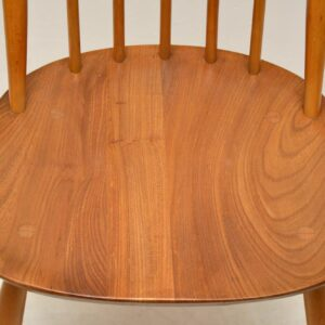 retro vintage ercol dining table and chairs