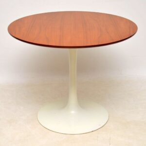 teak vintage retro arkana tulip base dining table