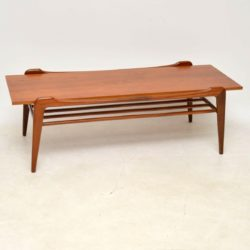 1960's Danish Vintage Teak Coffee Table