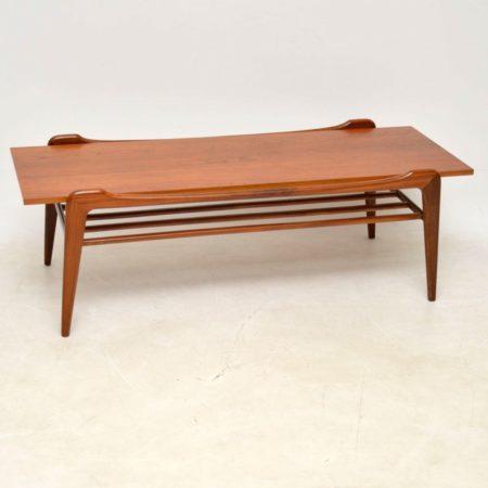 1960's Danish Vintage Teak Coffee Table