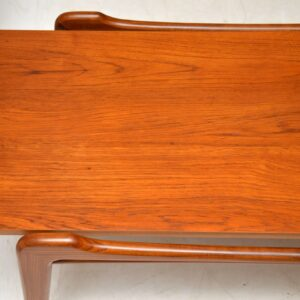 danish teak retro vintage coffee table