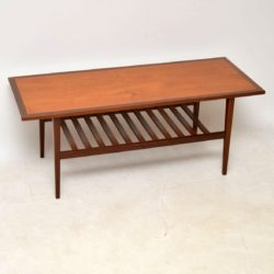 1960's Teak & Afromosia Vintage Coffee Table