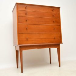 1960's Vintage Walnut Chest of Drawers by Alfred Cox