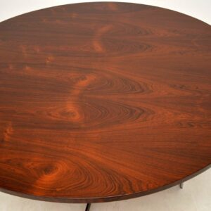 danish rosewood retro vintage dining table