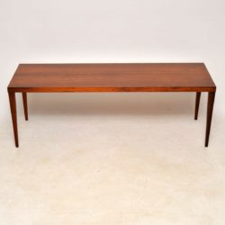 1960's Danish Rosewood Coffee Table by Sven Ellekaer