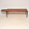 danish rosewood retro vintage coffee table sven ellekaer