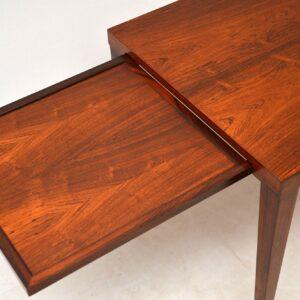 danish rosewood retro vintage coffee table sven ellekaer