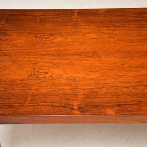 1960's Danish Rosewood Coffee Table by Sven Ellekaer
