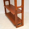 danish teak retro vintage bookcase by dyrlund