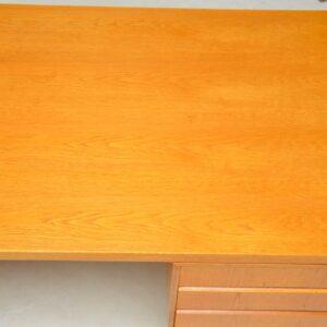 danish vintage retro oak desk gunni omann junior