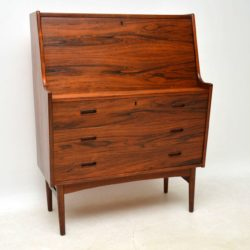 1960's Danish Rosewood Writing Bureau by Arne Wahl Iversen