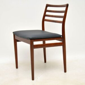 danish dining table chairs erling torvits retro vintage
