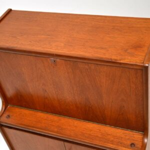 danish teak vintage retro writing bureau