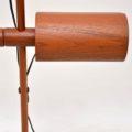 1970's Vintage Danish Teak Floor Lamp