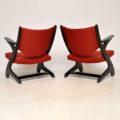 1960's Pair of Vintage Italian Armchairs