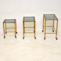 vintage_retro_brass_nest_of_tables_4