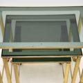 vintage_retro_brass_nest_of_tables_8