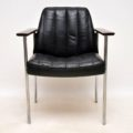 vintage_retro_leather_rosewood_armchair_dokka_3