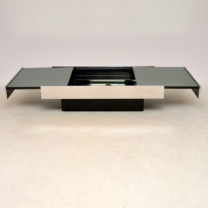 willy rizzo vintage retro italian coffee table