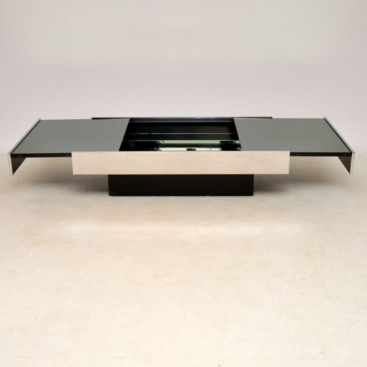 Willy Rizzo Coffee Table.1970 S Italian Vintage Coffee Table By Willy Rizzo