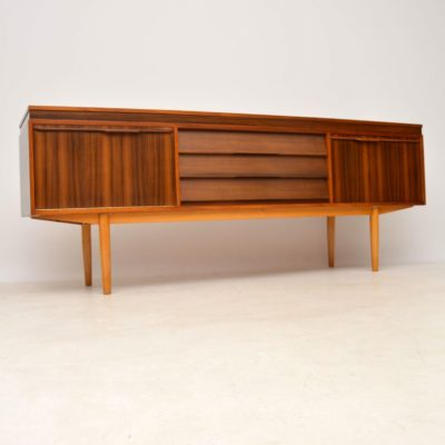 walnut retro vintage sideboard by morris of glasgow