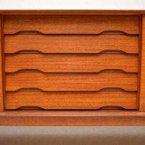 danish teak retro sideboard by rosengren hansen