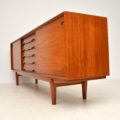 1960's Danish Teak Vintage Sideboard by Henry Rosengren Hansen