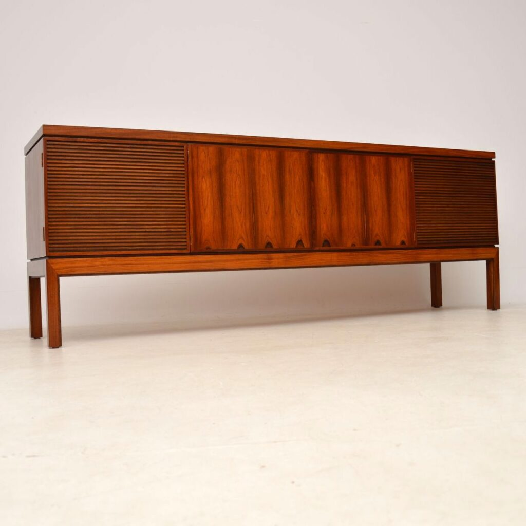 rosewood retro vintage bridgford sideboard by robert heritage for archie shine