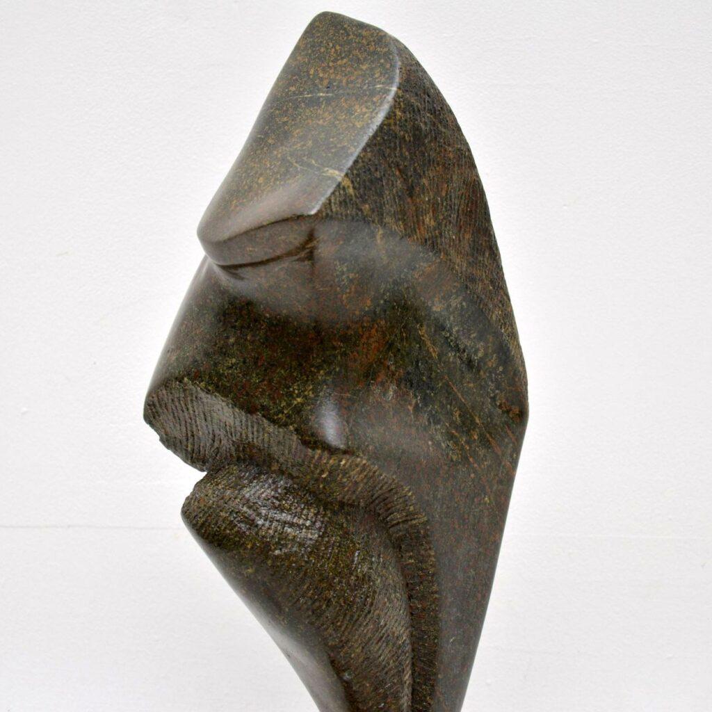 original british contemporary sculpture by mo gardner warrior 1994