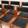 Set of 6 Danish Teak Vintage Dining Chairs