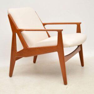 1960's Pair of Danish Teak Armchairs by Arne Vodder