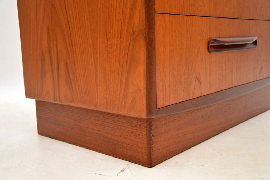 teak retro vintage chest of drawers by g- plan
