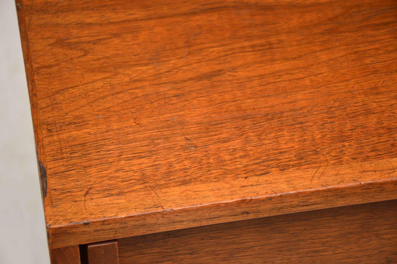 vintage retro walnut sideboard