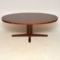 1960's Danish Rosewood Dining Table by John Mortensen for Heltborg Mobler