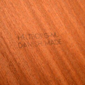 1960's Danish Rosewood Dining Table by John Mortensen for Heltborg Mobler