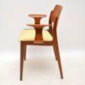 1960's Pair of Teak Vintage Armchairs by Egon Eiermann