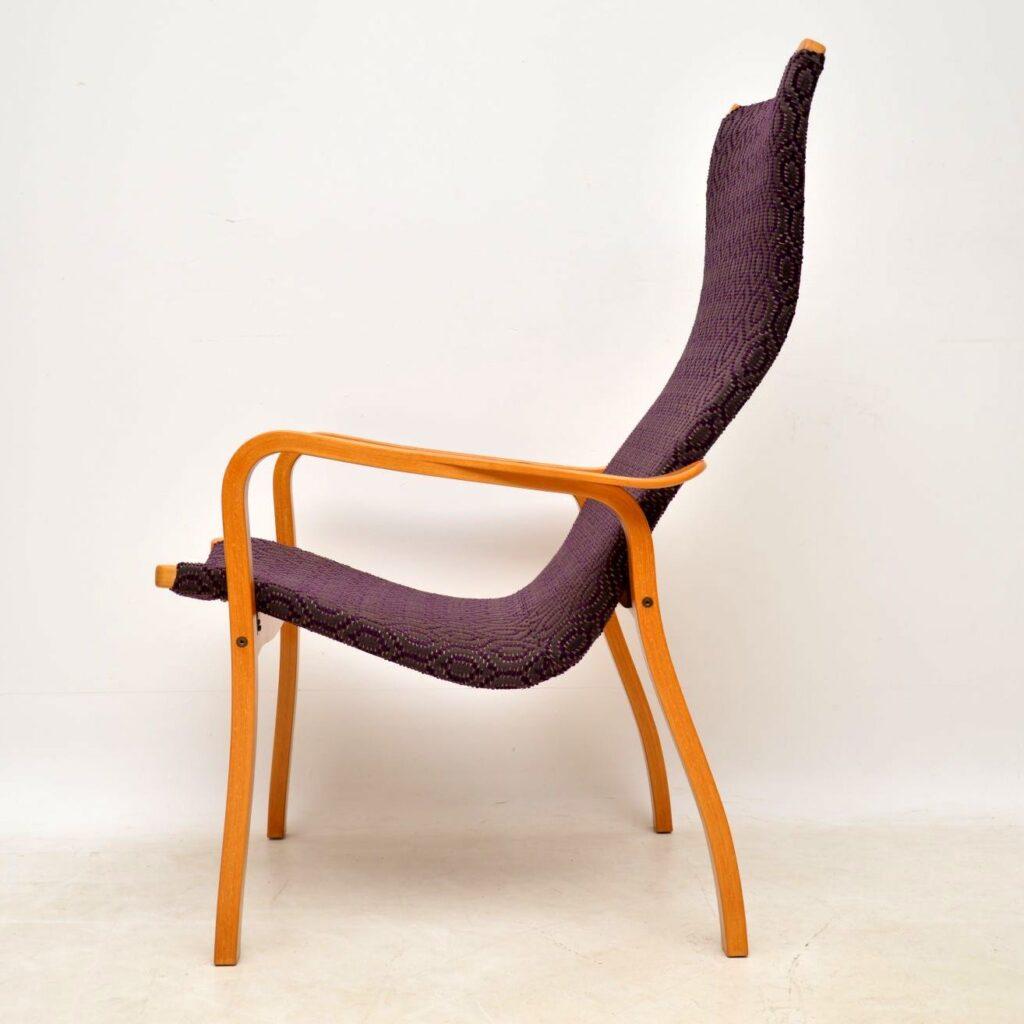 swedish retro vintage armchair yngve ekstrom swedese