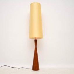 danish rosewood vintage lamp