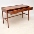 1960's Vintage Mahogany Writing Table / Desk