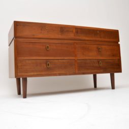 walnut retro vintage sideboard
