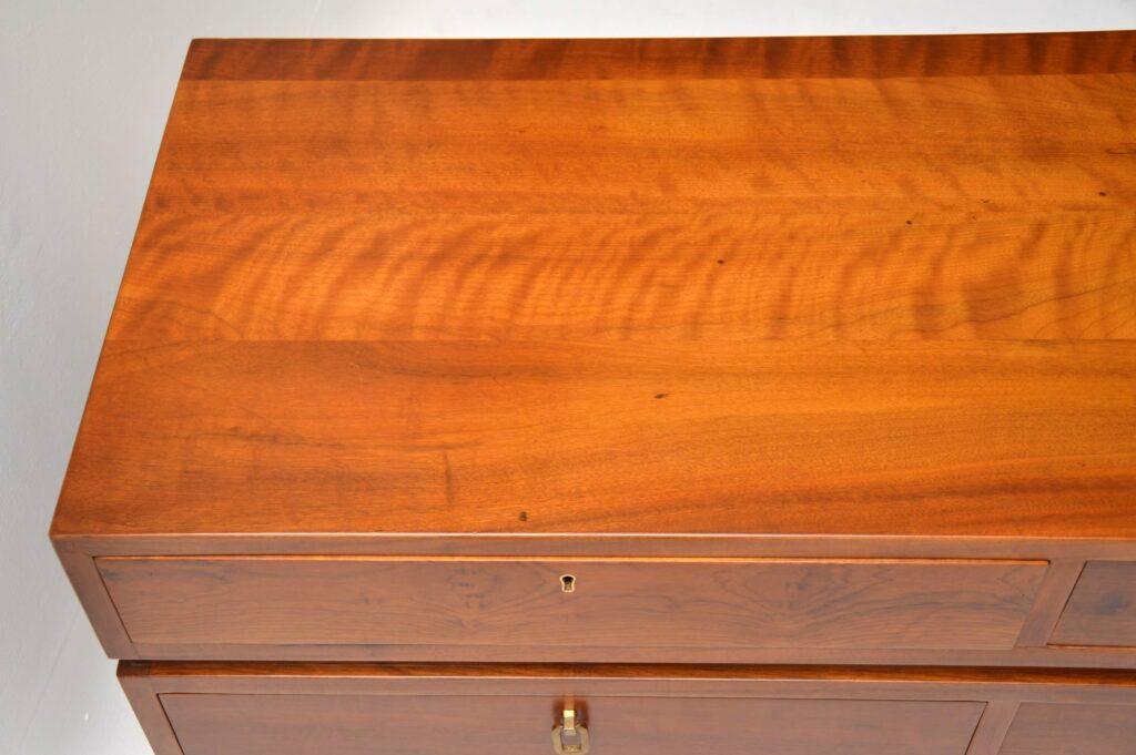 walnut retro vintage sideboard