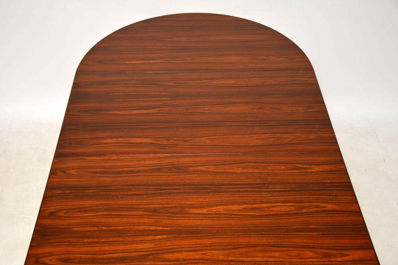 danish rosewood retro vintage dining table