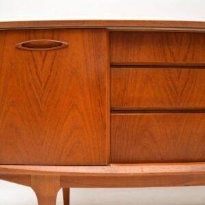 teak retro vintage sideboard 1960s danish