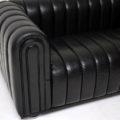 Vintage Leather Club 1910 Sofa by Josef Hoffmann