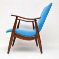 1960's Vintage Dutch Armchair by Louis Van Teeffelen