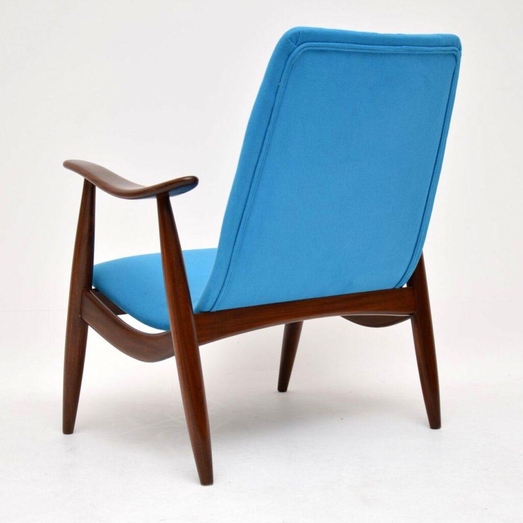 vintage retro danish dutch armchair louis van teeffelen