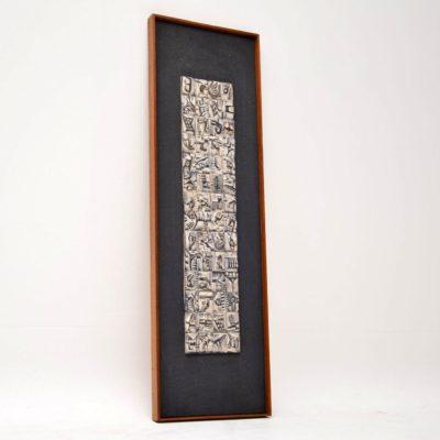 ron hitchins original ceramic tile art