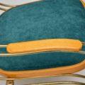 1970's Vintage Italian Brass Rocking Chair