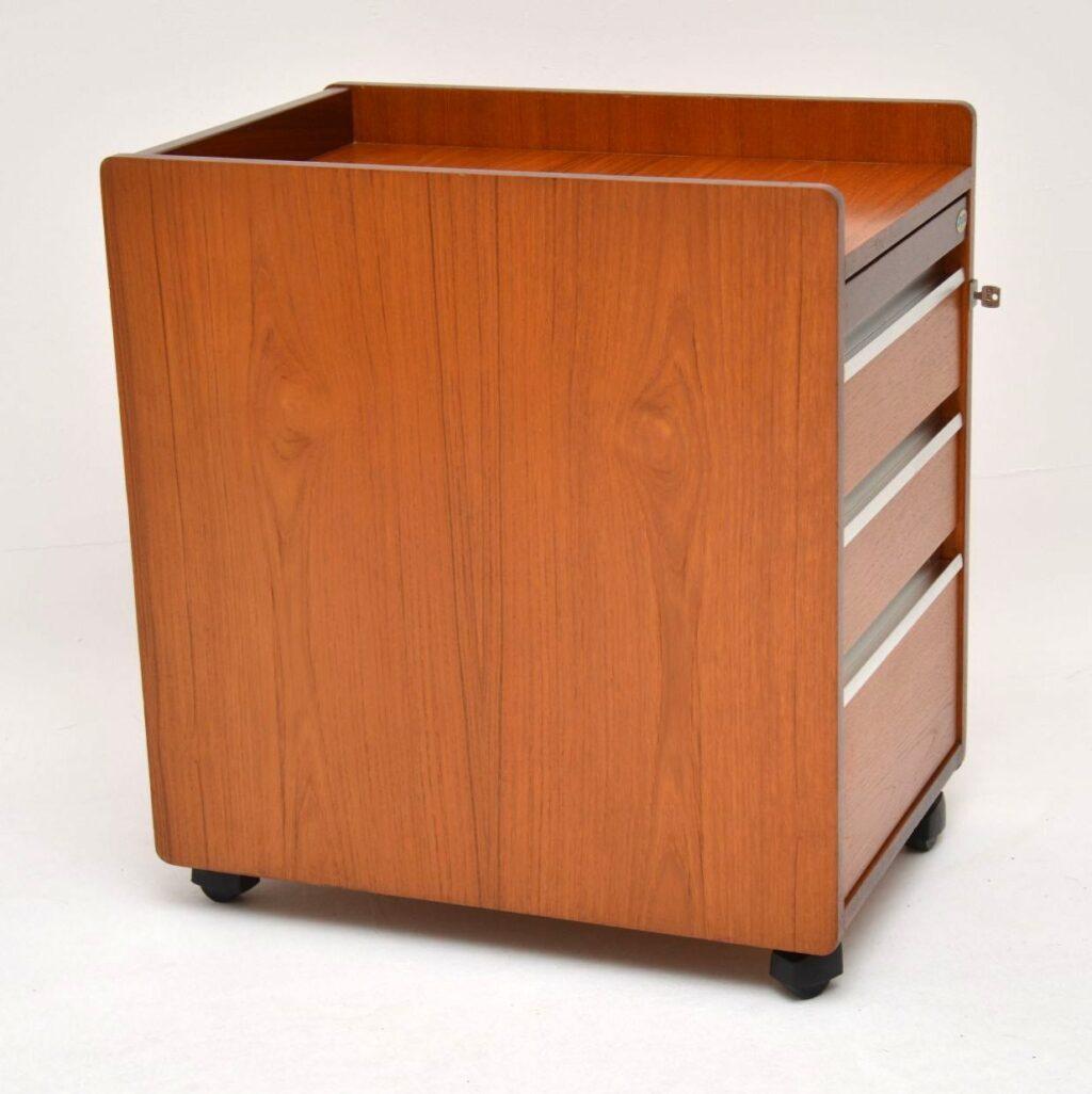 trak retro vintage filing chest of drawers